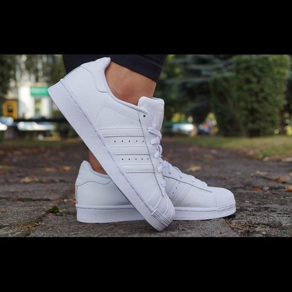 adidas superstar poshmark originale scarpe femminili